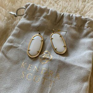 Kendra Scott Elle Earrings- White